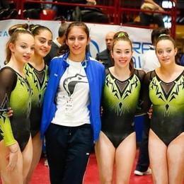 Campionati nazionali ad Assago  Il bronzo alla Ghislanzoni Gal