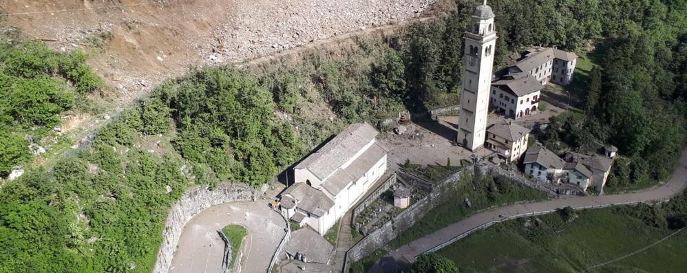Frana di Gallivaggio: statale aperta otto ore al giorno