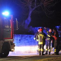 Allarme maltempo a Casatenovo  Fulmine contro contatore del gas
