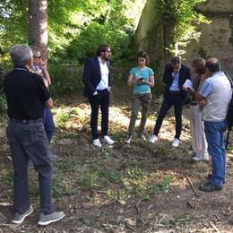 Villa Confalonieri a Merate  Il parco cambia volto in quattro mosse