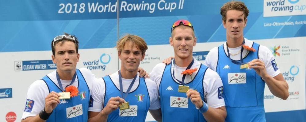 Coppa del mondo mandellese  Oro Panizza, bronzo Goretti