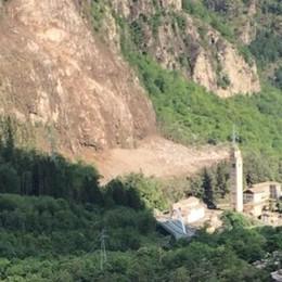"""Frana di Gallivaggio, ripristinate tre """"finestre"""" e c'è l'ok allo stato d'emergenza"""