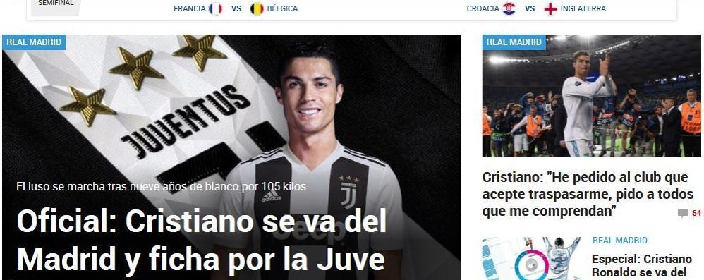 Adesso non ci sono più dubbi Cristiano Ronaldo è della Juve