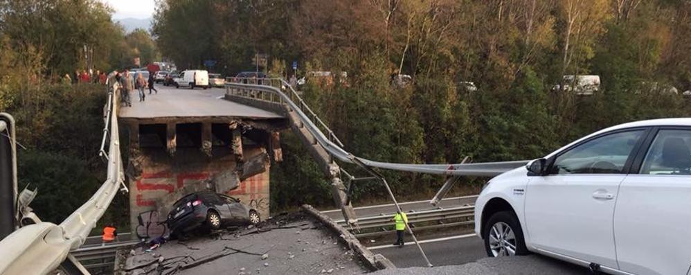 Annone, per il ponte crollato   tre nuovi indagati