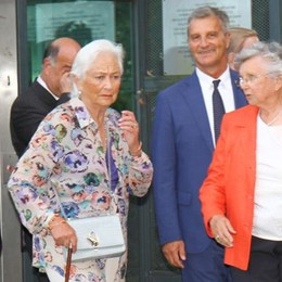 Alberto e Paola a Villa Carlotta  La prima volta dei reali del Belgio