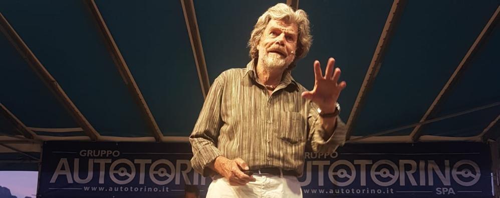 Il rimpianto di Messner? «I vostri monti»