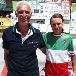 Mara Fumagalli, festa tricolore  Suo il titolo Marathon di Mtb