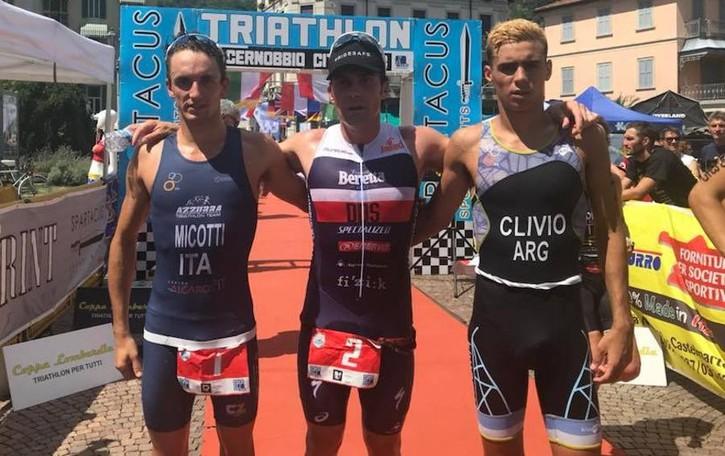 Risti ancora Sprint a 38 anni  Suo il Triathlon di Cernobbio