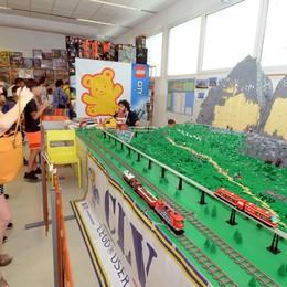 A Lecco il trionfo dei Lego  Opere in mattoncini da ammirare