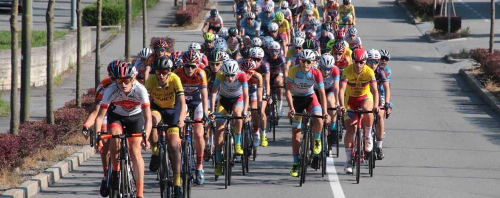 Il Giro della Provincia a Sirtori  Tappa tosta, con arrivo in salita