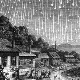 La magia delle stelle cadenti  Visibili un centinaio all'ora
