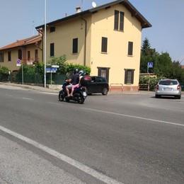 A Campofiorenzo  arriva il marciapiedi