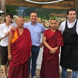 Sulle Grigne c'è anche un pezzo di Tibet  Tra mandala, ravioli e formaggi d'alpe