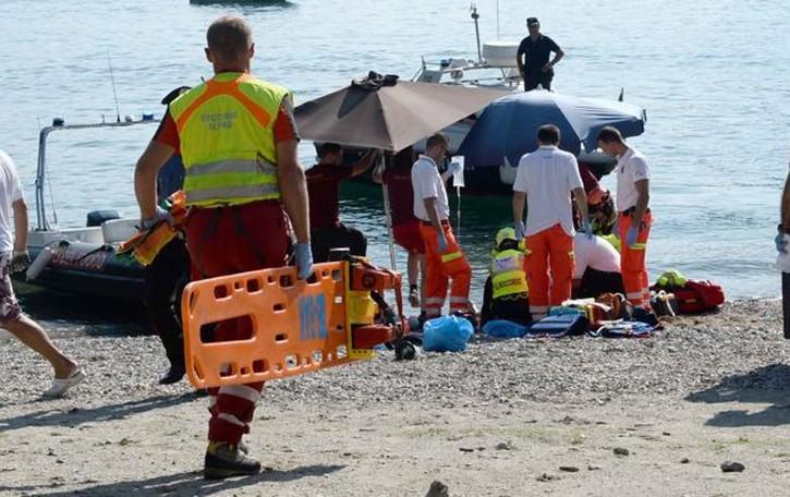 Bellano, salvato dalle acque,    giovane muore in ospedale