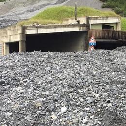Frana al Gallo, 80 metri di tunnel da rifare
