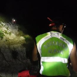 Mamma e tre bambini dispersi  Recuperati dal Soccorso alpino