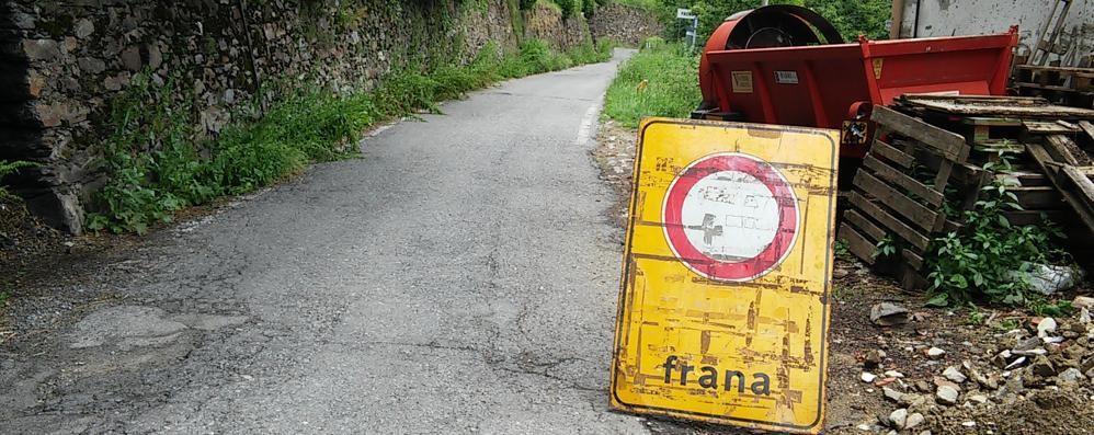 La Regione ha detto sì  Trecentomila euro per la frana