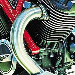 Valvole al titanio  e motore pulito  nella V85  Guzzi