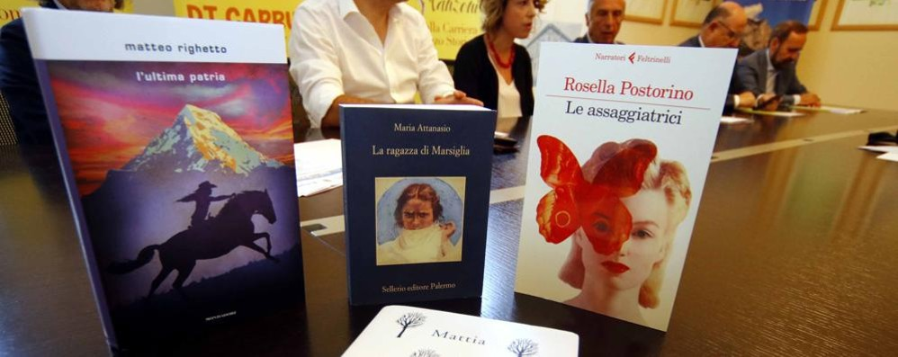 Finalisti Premio Manzoni  Librai lecchesi sicuri:  «Una terna che piacerà»