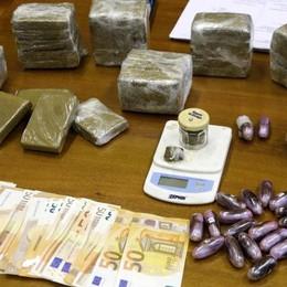Sequestrati 5 kg di hashish  Valgono più di 30mila euro