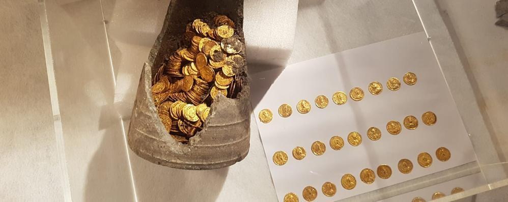 Il ministro: «Il tesoro romano  rimarrà a Como»