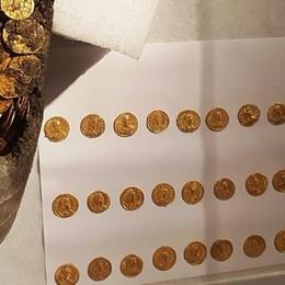 Nel Tesoro di Como cento monete in più