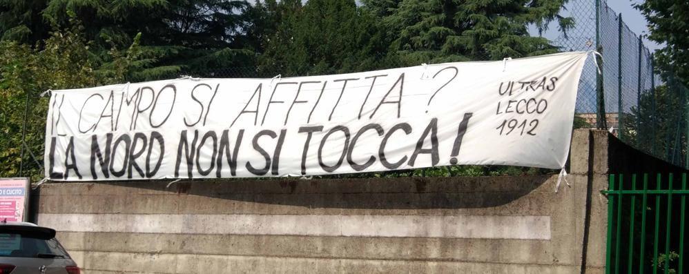 Rigamonti Ceppi affittato   La protesta degli Ultras