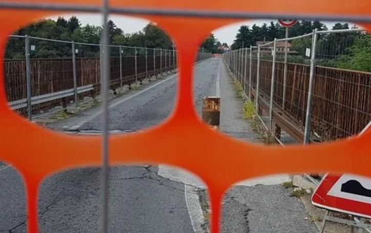 Calusco, Trenord dispone bus sostitutivi  Il ponte potrebbe restare chiuso a lungo
