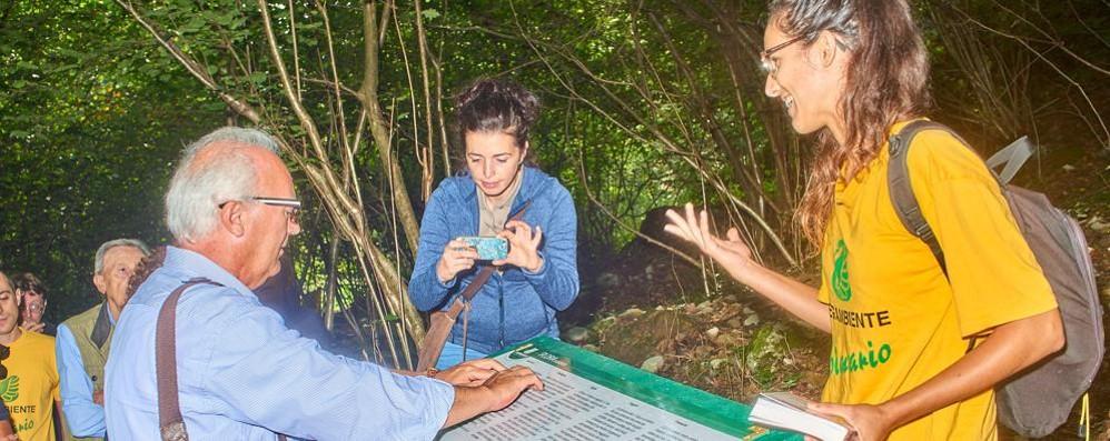 Primaluna, percorso sensoriale  tra boschi e miniere per non vedenti