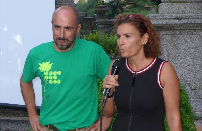 Simore Sirtori del comitato organizzatore con Benedetta Magni