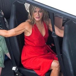 Como: Aniston e Sandler   tra incidenti e fughe