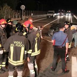 Incidente sulla tangenziale di Sondrio: morto un valtellinese di 49 anni