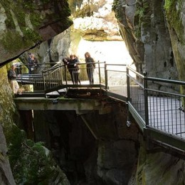 Bellano, l'Orrido dei record,   più 30% di visitatori