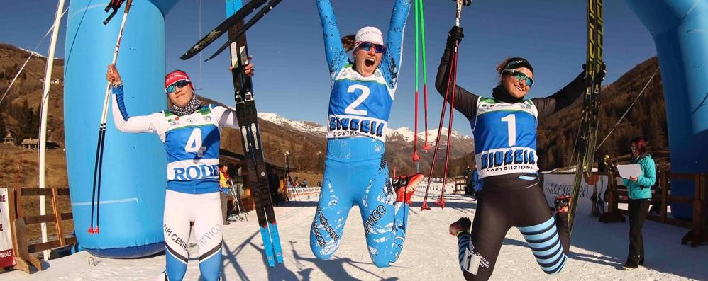 Super Anna Rossi  È Tricolore sprint Aspiranti