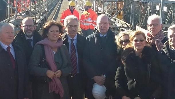 Ponte San Michele riaperto a dicembre  La promessa di Rfi