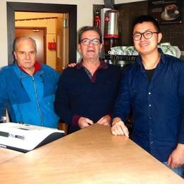 Erba, lo storico bar Rugula  adesso parla cinese