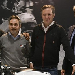 Moto Guzzi è regina a Verona  Annunciato il ritorno alle corse