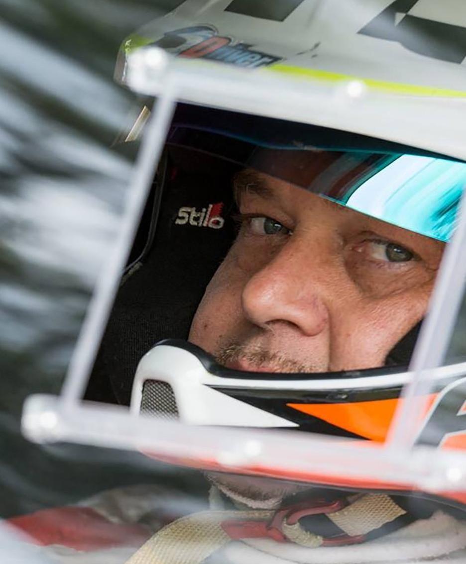 Marco Paccagnella  al volante