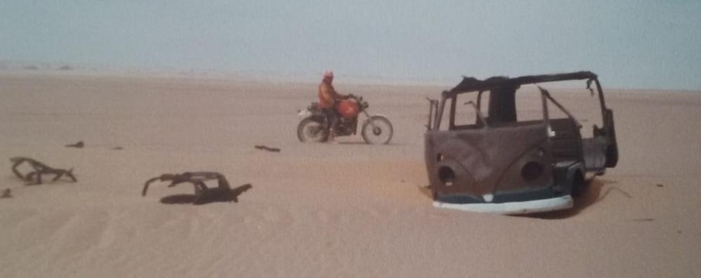 «Sabbia nei serbatoi,   saldati nel deserto»