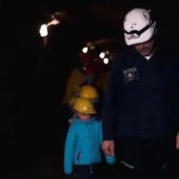 Miniere turistiche in un video  Il regalo  è già diventato virale