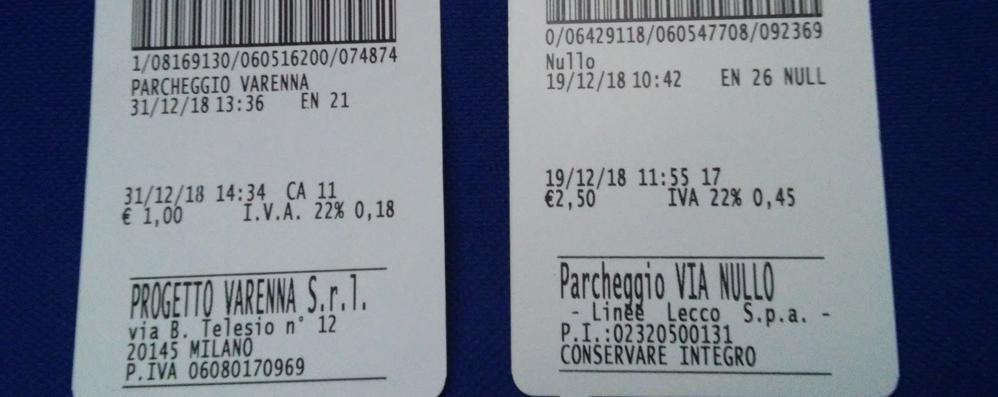 scarpe temperamento comprare nuovo nuovi prodotti caldi Posteggi in centro, un vero salasso Lecco più cara anche di ...