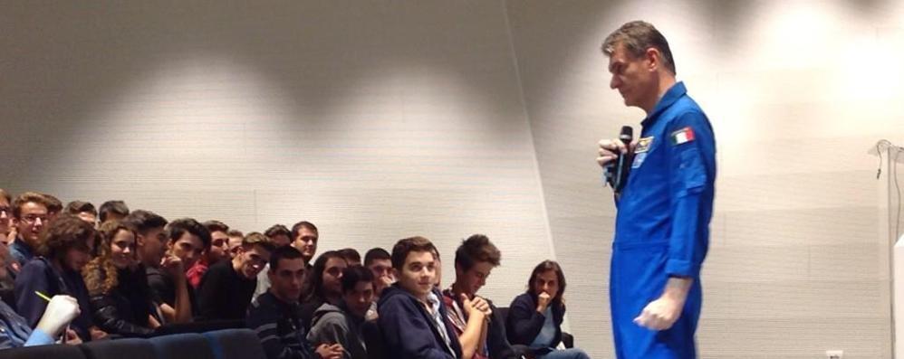L'astronauta Nespoli sarà a Sondrio Festival: «Grande opportunità»