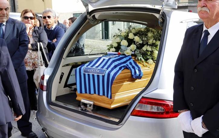 «Addio Angelo, una vita piena d'amore»
