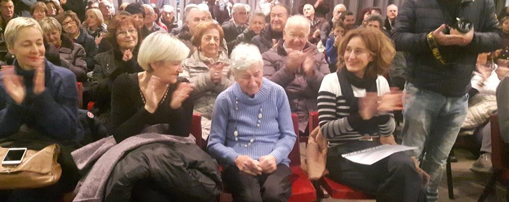 Il grazie di Galbiate alla Serratoni  È una benemerita del paese
