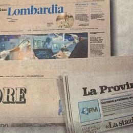 Venerdì abbinata speciale Provincia di Lecco + Il Sole24Ore  con il Rapporto Lombardia