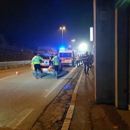 Tamponamento tra auto  Cinque feriti a Malgrate