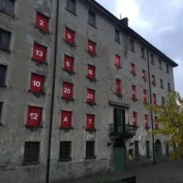 Abbadia prepara il Natale  Si apre con il maxi calendario