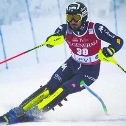 D'oro lo slalom di Coppa Europa  Grande vittoria di Tommaso Sala