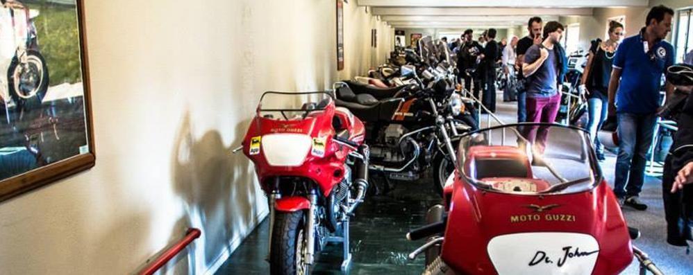 Mandello, si restaurano le moto  al museo della Guzzi