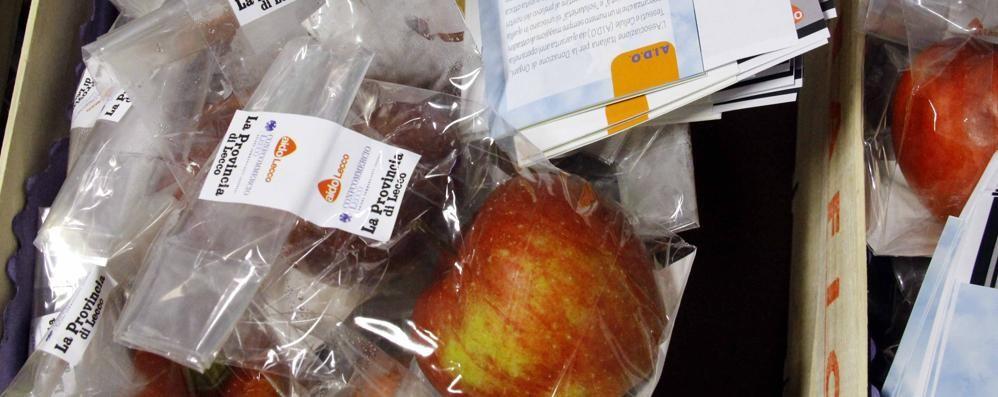Lecco. Le mele di San Nicolò Un regalo a tutti gli alunni